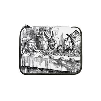 "ALICE IN WONDERLAND TEA PARTY 13"" LAPTOP SLEEVE"