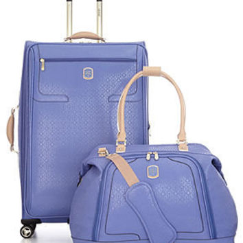 GUESS? Luggage, Frosted - Luggage Collections - luggage - Macy's