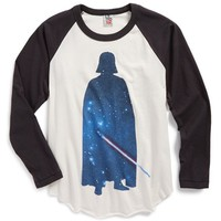 Junk Food 'Darth Vader' Raglan T-Shirt