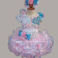 Infant/toddler/baby/children/kids Girl's Pageant evening/prom Dress/clothing/ for birthday,wedding,bridal,gift,party,1~4T