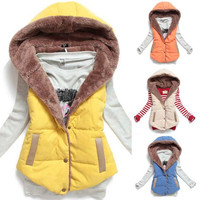 Fashion Hooded Vest
