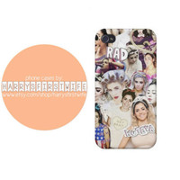 Marina and the Diamonds collage iPhone 4/4s 5/5s/5c & iPod 4/5 Case