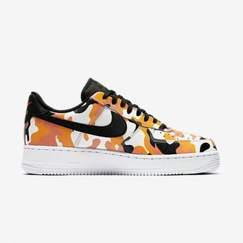 qiyif NIKE - Men - Air Force 1 Low - Orange/Black/White