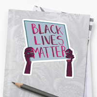 'Black Lives Matter' Sticker by anewdigitallion