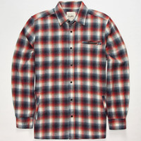 Lira Cholo Mens Flannel Shirt Red  In Sizes