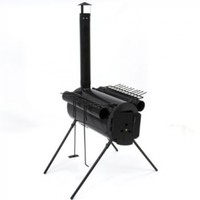 Best Choice Products Portable Military Steel Camping Wood Stove