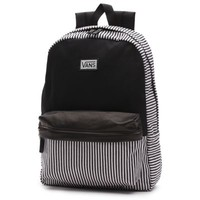 Vans Hickory Stripes Deana II Backpack (Black)