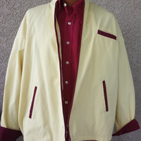 WONDERFUL Cafe Racer/ Utility 1970's 80's TWO-TONE Men's Jacket
