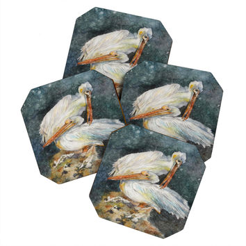Rosie Brown Pelicans 1 Coaster Set