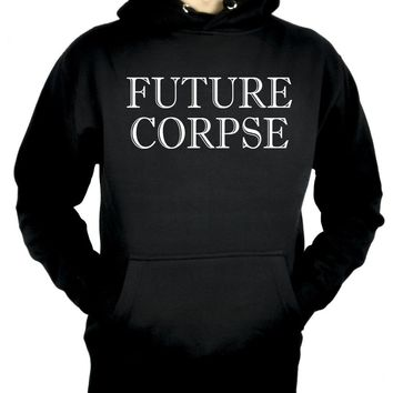 Future Corpse Pullover Hoodie Sweatshirt Occult Clothing Alternative
