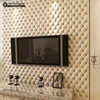 Great Wall 3D Imitation Leather vein 10 m roll wallpaper for walls,living room of 3d wall paper,papel de parede roll 3d room