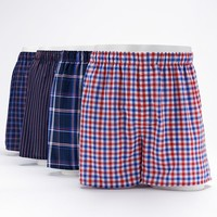 Croft & Barrow 4-Pack Woven Boxers