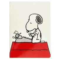 Peanuts Typewriter Soft Cover Journal