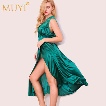 Sexy Nightgowns Sleepshirts Women Nightwear Sleepwear Night Dress Long Nightgown Home Dresses Lace Nuisette Sexy Costumes Summer