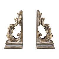 FLORINTINE SCROLL BOOKENDS