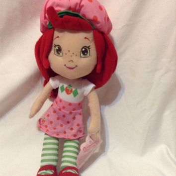 Kellytoy Strawberry Shortcake Plush sweet doll toy girls friends stuffed animal