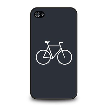 BICYCLE MINIMALISTIC iPhone 4 / 4S Case