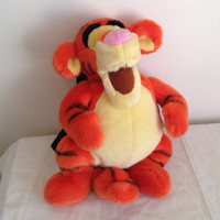 free shipping ~ TIGGER MINI BACKPACK disney pooh 90s fuzzy