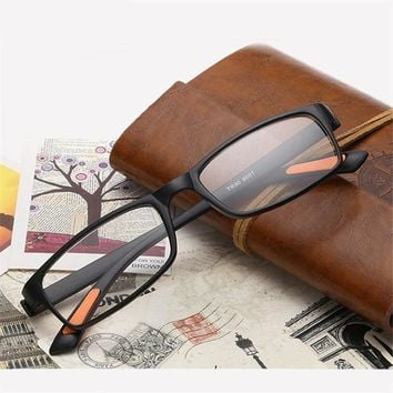 KUJUNY Resin Reading Glasses Anti-fatigue TR90 Ultra-light Presbyopic Women Men Hyperopia Prescription Eyewear oculos leitura