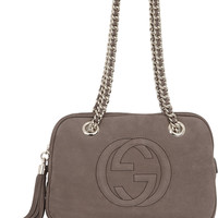 Gucci - Soho small suede shoulder bag