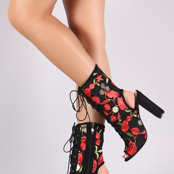 Embroidered Booties | UrbanOG
