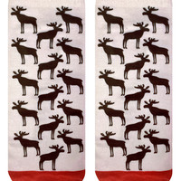 Moose Ankle Socks