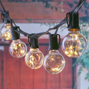 25 LED Bulb Copper Wire String Light for Holiday