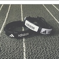 Nike / Adidas British simple men and women couple bracelet