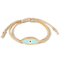 Tai Blue Evil Eye Woven Braclet | Accessories | Liberty.co.uk