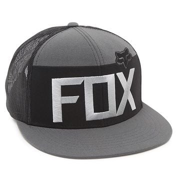 Fox Regrip Snapback Hat - Mens Backpack - Black - One