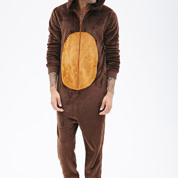 Plush Reindeer Jumpsuit
