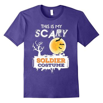 This is my Scary Nurse Soldier Halloween shirt 2017