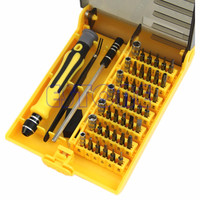 45 in 1 Repair Opening Pry Tools Screwdriver Kit Set For Cell iPhone 4 4S 5 5S and other electronic product