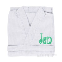 Monogrammed Robes | Marleylilly