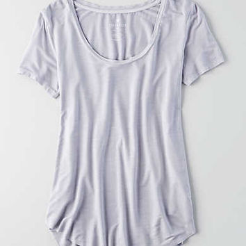 AEO Soft & Sexy Short Sleeve T-Shirt , Lively Lilac