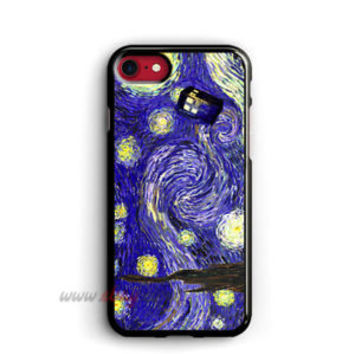 Starry Night posters iphone cases Tardis Dr Who samsung galaxy case ipod cover