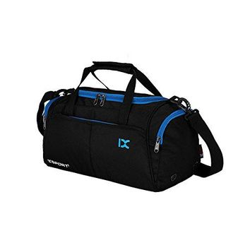 Waterproof Duffel Bags With Shoe Pouch, Leparvi Gym Lightweight Carry On Luggage