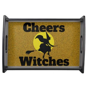 Cheers Witches Serving Tray
