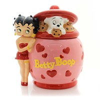 Tabletop Betty Boop Diner Cookie Jar Tabletop