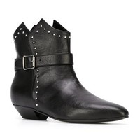 Saint Laurent Buckled Ankle Boots - O' - Farfetch.com