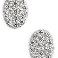 Women's Freida Rothman 'Femme' Oval Stud Earrings