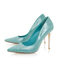 DUNE LADIES BROOKS - Extreme Pointed Toe Court Shoe - blue | Dune Shoes Online