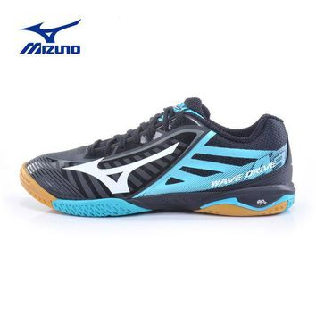 ESBON3R MIZUNO Sports Sneakers Men's WAVE DRIVE A 3 Table Tennis Ball Shoes Mesh Breathable Cushioning Sport Shoes 81GA150009 YXT003