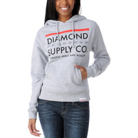 Diamond Supply Girls Roots Grey Pullover Hoodie  at Zumiez : PDP