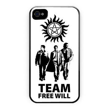 Team Free Will Supernatural iPhone 4/4S Case
