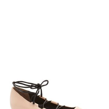 3.1 Phillip Lim 'Martini' Lace-Up Flat (Women) | Nordstrom