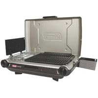 Coleman PerfectFlow™ Portable Camp Propane Grill-Stove+