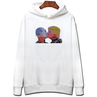 Luck Fridays Trump presidential election hooded head jacket