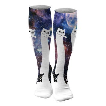 To the infinity... and beyond! knee socks