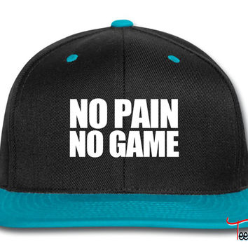 No Pain No Game Snapback